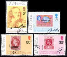 SAINT HELENA ISLAND 1979 - Set Used - Sainte-Hélène