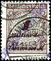 4569 1 Mrd. M. Mit Aufdruck Von Wismar, Gestempelt WISMAR 14.11.23, Gepr. Infla Und Peschl, Mi. 150.-, Katalog: 36VIII O - Unclassified