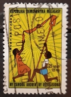 MADAGASCAR 1978 Youth - Pillar Of Revolution. USADO - USED. - Madagascar (1960-...)