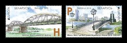 Belarus 2018 Mih. 1245/46 Europa-Cept. Bridges MNH ** - Belarus