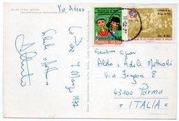 BOLIVIA - LA PAZ VIEW / THEMATIC STAMPS-CHRISTMAS / U.S.A. BICENTENARY - Bolivia