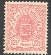 Armoiries Dentelé   12½ Cent. Rouge    No 43  * Neuf Avec Gomme - 1882 Allégorie