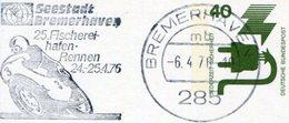 MOTORCYCLE Germany 1976 BREMERHAVEN Slogan Motorbike Race Motorrad Werbestempel Cycling Stat. Card Bildpostkarte Cochem - Motos