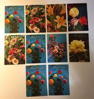 Fiore Flower - Auguri - Lotto 10 Cartoline - Cartoline
