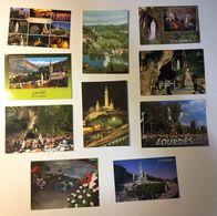 Lourdes - Madonna - Lotto 10 Cartoline - Cartoline