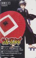 Carte Prépayée Japon - MANGA - SHOGAKUKAN - ANIME Japan Prepaid Tosho Card / TV Comics - 10121 - Comics