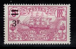 Nlle Calédonie - YV 136 N* Cote 3 Euros - New Caledonia