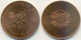 DDR Medaille, Leipzig, Sport VIII. Sportfest XI. Spartakiade DTSB DDR 1987 - Other