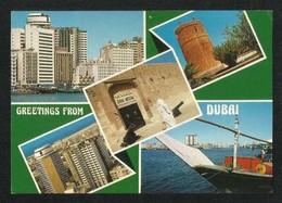 United Arab Emirates UAE Dubai Picture Postcard 5 Scene Dubai View Card - Dubai