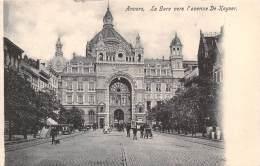 ANVERS - La Gare Vers L'avenue De Keyser - Antwerpen