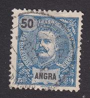 Angra, Scott #22, Used, King Carlos, Issued 1897 - Angra