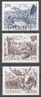 SVERIGE - SVEZIA - SWEDEN - 1984 - Lotto 3 Valori Obliterati: Yvert 1276, 1277 E 1279. - Gebraucht