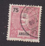 Angra, Scott #25, Used, King Carlos, Issued 1897 - Angra