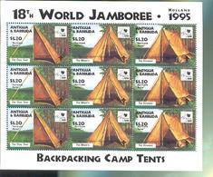 ANTIGUA & BARBUDA  1963 X 3 OP 1930 MINT NEVER HINGED STAMPS OF WORLD SCOUTING  JAMBOREE - Unclassified