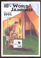 ANTIGUA & BARBUDA  1966  OP 1933  MINT NEVER HINGED STAMPS OF WORLD SCOUTING  JAMBOREE - Unclassified
