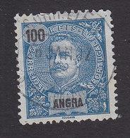 Angra, Scott #28, Used, King Carlos, Issued 1897 - Angra