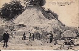 LA JONCHERE Carrière De Kaolin - CPA Animée - - Autres Communes
