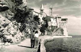 72853864 Rab Croatia Uferpromenade Altstadt Seeseite Croatia - Italy