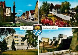 73018771 Rain Lech Wassertalsperre Brunnen Schule  Rain - Sin Clasificación
