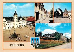 73026501 Freiberg Sachsen Obermarkt Petriplatz Untermarkt Dom Bergbaumuseum  Fre - Freiberg (Sachsen)