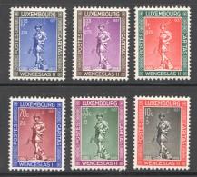 1937  Wenceslas II  No 294-9 * - Luxembourg