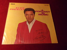 ELVIS PRESLEY   °°  A PORTRAIT IN MUSIC - Vinyl Records