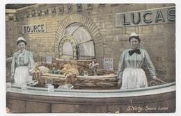 (RECTO / VERSO) VICHY - N° 5 - LA SOURCE LUCAS ANIMEE - Ed. AQUA PHOTO - CPA NON VOYAGEE - Vichy