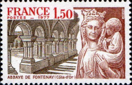 France Poste N** Yv:1938 Mi 2034 Yv:0,8 Euro Abbaye De Fontenay Côte D'Or - France