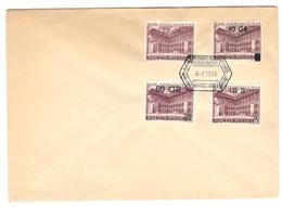 1946 - 4 TP Avec Surcharges - 1944-.... République