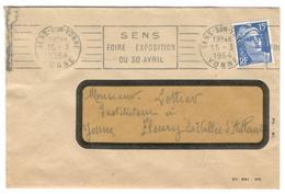 1958 - SENS - Poststempel (Briefe)