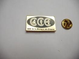 Beau Pin's En EGF , Banque ,  CCE De La Banque De France - Banken