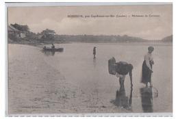 FRANCE --LANDES -- HOSSEGOR -- PÊCHEUSES DE CREVETTES-- NON CIRCULEE-- - Hossegor