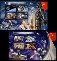 BURUNDI [01/2018] Space Sputnik Gagarin Laika Tereshkova Soyouz Luna - Space