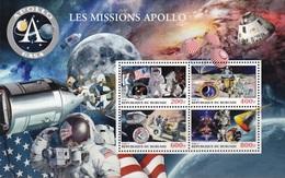 BURUNDI [03/2018] Space Espace Raumfahrt Spazio Espacio Apollo - Space