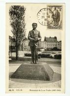 Carte Maximum  LILLE  Léon TRULIN  ( De 1939) - 1930-39