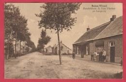 Balen-Wezel - Handelsbuis A. Van Vlerken En Lange Rij  - 1934 ( Verso Zien ) - Balen