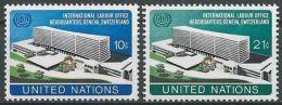 UNO NEW YORK 1974 Mi-Nr. 264/65 ** MNH - New York -  VN Hauptquartier