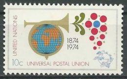 UNO NEW YORK 1974 Mi-Nr. 266 ** MNH - New York -  VN Hauptquartier