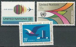 UNO NEW YORK 1974 Mi-Nr. 272/74 ** MNH - New York -  VN Hauptquartier