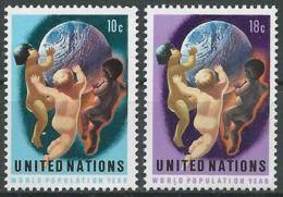 UNO NEW YORK 1974 Mi-Nr. 275/76 ** MNH - New York -  VN Hauptquartier