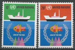 UNO NEW YORK 1974 Mi-Nr. 277/78 ** MNH - New York -  VN Hauptquartier