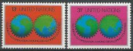 UNO NEW YORK 1978 Mi-Nr. 326/27 ** MNH - New York -  VN Hauptquartier