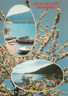 Carte Postale Des Années 70 De L'Isère - Charavines - Lac De Paladru - Vues Multiples - Charavines