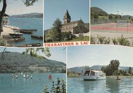 Carte Postale Des Années 70 De L'Isère - Charavines Le Lac - Vues Multiples - Charavines