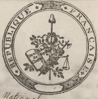 Val Aux Mines An 3 – 30.5.1797 Sainte Marie Aux Mines Demande De Faire Sauté Officier Du Canton - Documentos Históricos