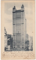 New York City - Syndicate Building  - (N.Y., USA)  - 1902 Send To Helder, Holland - Manhattan