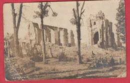 Langemark ...Puinen 1914-18 ... Groep Duitsch Soldaat - Fotokaart ( Verso Zien ) - Langemark-Poelkapelle