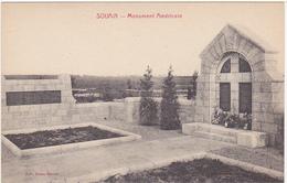 51 - SOUIN (SOUAIN) (Marne) - Monument Américain - Souain-Perthes-lès-Hurlus