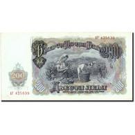 Billet, Bulgarie, 200 Leva, 1951, 1951, KM:87a, SUP - Bulgarie