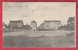 Ieper / Ypres - Entrée De La Ville - 1925 ( Verso Zien ) - Ieper